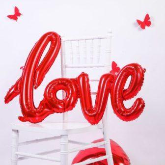 Надпись LOVE малая