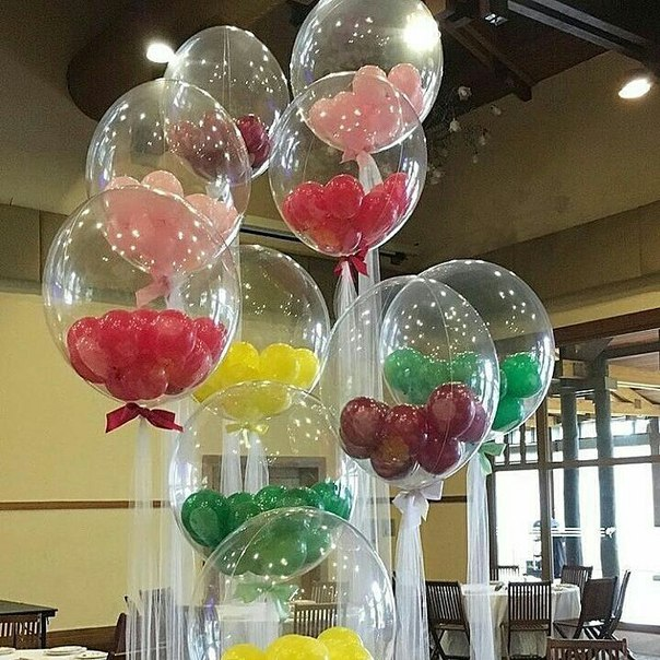 Бабблс с шариками внутри