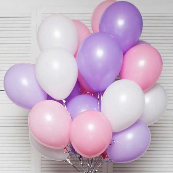 Гелиевые шары 30 штук