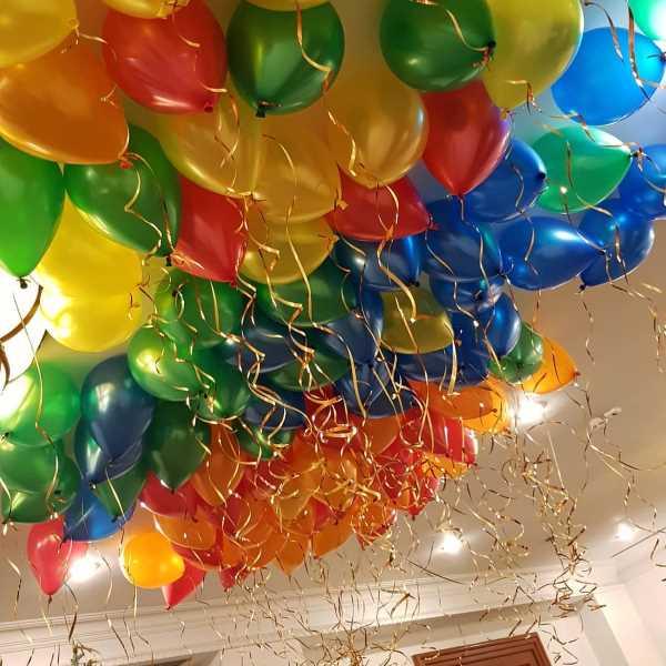 Гелиевые шары 50 шаров