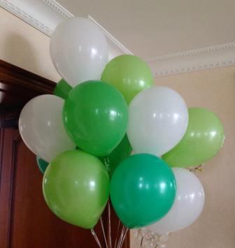 Латексные шарики АССОРТИ 5
