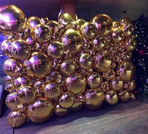 ФОТОЗОНА из фольгированных шаров