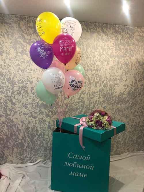 Коробка-сюрприз для мамы
