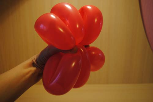 Воздушные шары - делаем лепестки