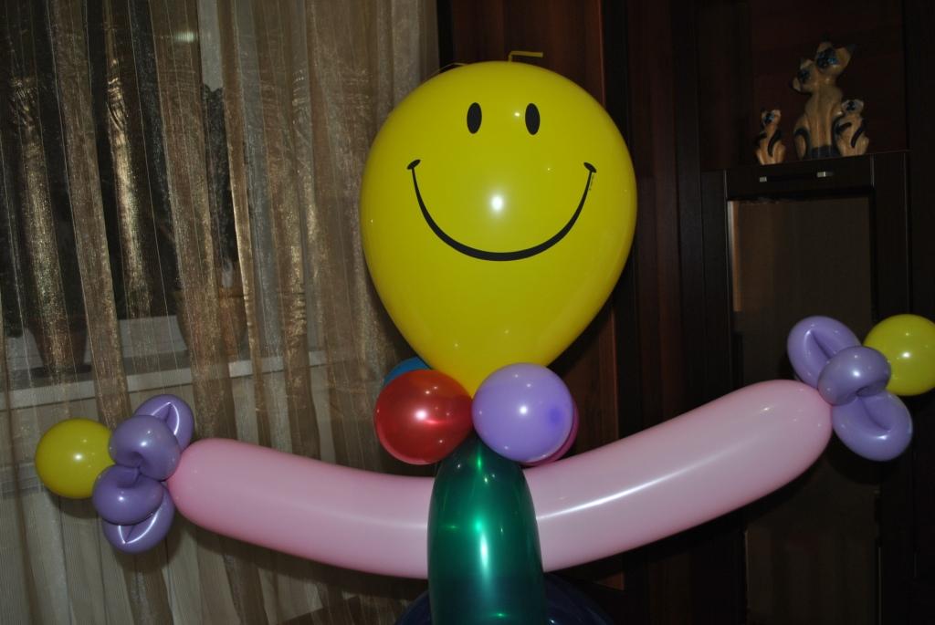Сделать клоуна из шариков своими руками 17