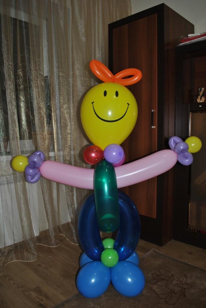 Фигуры из воздушных шаров своими руками пошаговое фото