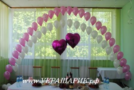 Как можно украсить зал своими руками на свадьбу